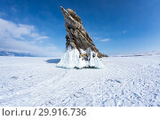 Купить «Lake Baikal in winter», фото № 29916736, снято 6 марта 2017 г. (c) Юлия Белоусова / Фотобанк Лори
