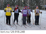 Купить ««Лыжня России» 2019», фото № 29918248, снято 9 февраля 2019 г. (c) Ирина Краснова / Фотобанк Лори