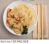 Купить «Thai Red Curry», фото № 29942924, снято 31 мая 2020 г. (c) Яков Филимонов / Фотобанк Лори
