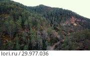 Купить «El Torrent de la Cabana small mountain stream with crystal clear water», видеоролик № 29977036, снято 23 марта 2018 г. (c) Яков Филимонов / Фотобанк Лори