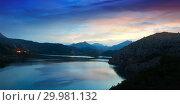 Купить «Twilight landscape with lake», фото № 29981132, снято 28 мая 2020 г. (c) Яков Филимонов / Фотобанк Лори