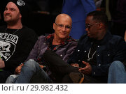 Купить «Celebrities seen at the Lakers game. The Golden State Warriors defeated the Los Angeles Lakers by the final score of 127-123 in overtime at Staples Center...», фото № 29982432, снято 30 ноября 2017 г. (c) age Fotostock / Фотобанк Лори