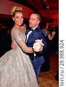 Annika Gassner, Bernhard Kleingarn at Bundespresseball at Hotel Adlon... (2017 год). Редакционное фото, фотограф AEDT / WENN.com / age Fotostock / Фотобанк Лори