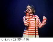 Maren Morris Performing at Manchester O2 Ritz (2017 год). Редакционное фото, фотограф Sakura / WENN.com / age Fotostock / Фотобанк Лори