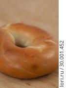 Close up of a bagel. Стоковое фото, агентство Wavebreak Media / Фотобанк Лори