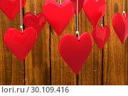 Купить «Composite image of love hearts», фото № 30109416, снято 21 января 2015 г. (c) Wavebreak Media / Фотобанк Лори