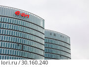 Купить «EON, Headquarters, Buildings, Essen, North Rhine-Westphalia, Ruhr Area, Germany, Europe», фото № 30160240, снято 6 января 2019 г. (c) Caro Photoagency / Фотобанк Лори