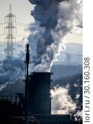 Купить «Prosper coking plant, industry in the Ruhr area, Bottrop, Germany, Europe», фото № 30160308, снято 20 января 2019 г. (c) Caro Photoagency / Фотобанк Лори