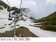 View of Caucasian mountains. Стоковое фото, фотограф Юлия Белоусова / Фотобанк Лори