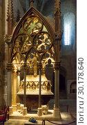 Купить «Mausoleum of Peter III in Monastery of Santes Creus, Spain», фото № 30178640, снято 27 января 2019 г. (c) Яков Филимонов / Фотобанк Лори