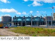 Купить «Ладожский вокзал. Санкт-Петербург», эксклюзивное фото № 30206988, снято 25 сентября 2018 г. (c) Александр Щепин / Фотобанк Лори