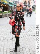 Купить «Myleene Klass seen hailing a cab as she leaves Global House in London Featuring: Myleene Klass Where: London, United Kingdom When: 26 Oct 2017 Credit: Michael Wright/WENN.com», фото № 30222616, снято 26 октября 2017 г. (c) age Fotostock / Фотобанк Лори