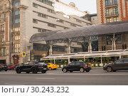 Тверская улица (2018 год). Редакционное фото, фотограф Ольга Шевченко / Фотобанк Лори