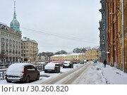 Купить «Зимний Санкт-Петербург», эксклюзивное фото № 30260820, снято 3 марта 2019 г. (c) Александр Алексеев / Фотобанк Лори