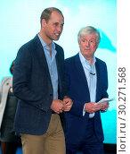 Купить «World Premiere of 'Blue Planet II' in London Featuring: Prince William, Duke of Cambridge, Tony Hall Where: London, United Kingdom When: 27 Sep 2017 Credit: Danny Martindale/WENN.», фото № 30271568, снято 27 сентября 2017 г. (c) age Fotostock / Фотобанк Лори