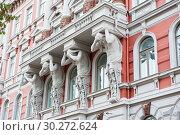 Купить «Красивая архитектура Хельсинки. Финляндия», фото № 30272624, снято 20 сентября 2018 г. (c) E. O. / Фотобанк Лори