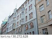 Купить «Красивая архитектура Хельсинки. Финляндия», фото № 30272628, снято 20 сентября 2018 г. (c) E. O. / Фотобанк Лори