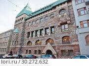 Купить «Красивая архитектура Хельсинки. Финляндия», фото № 30272632, снято 20 сентября 2018 г. (c) E. O. / Фотобанк Лори