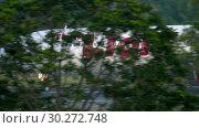 Купить «Airplane taxiing after landing», видеоролик № 30272748, снято 1 декабря 2018 г. (c) Игорь Жоров / Фотобанк Лори