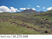 Mountain mongolian natural landscape (2017 год). Стоковое фото, фотограф Serg Zastavkin / Фотобанк Лори