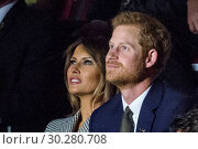 Купить «Royals and politicians attend the Invictus Games Opening Ceremony at Air Canada. Featuring: Melania Trump, Prince Harry Where: Toronto, Canada When: 23 Sep 2017 Credit: Euan Cherry/WENN.com», фото № 30280708, снято 23 сентября 2017 г. (c) age Fotostock / Фотобанк Лори