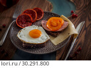 Купить «background, bacon, blue, bread, brown, burger, ceramic, fog, knife, cereals, cheese, citrus, dark, apple, table, delicious, diet, dietary, food, fresh, fried, eggs, fruit, grain, lemon, lunch, meal, orange, plate, red, evening, dinner, rosemary, rustic, salad, sandwich, seeds, wood, wooden, woodsn, tomato», фото № 30291800, снято 11 марта 2019 г. (c) Julia Shepeleva / Фотобанк Лори