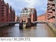 Hamburg Old Town (2016 год). Стоковое фото, фотограф Татьяна Савватеева / Фотобанк Лори