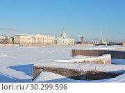 Saint-Petersburg  in winter (2011 год). Редакционное фото, фотограф Татьяна Савватеева / Фотобанк Лори
