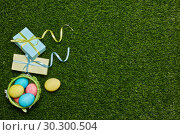 Купить «Easter background», фото № 30300504, снято 7 марта 2019 г. (c) Мельников Дмитрий / Фотобанк Лори