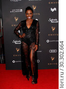 Купить «Television Academy 69th Emmy Performer Nominees Cocktail Reception held at the Wallis Annenberg Center for the Performing Arts - Arrivals Featuring: Shanola...», фото № 30302664, снято 15 сентября 2017 г. (c) age Fotostock / Фотобанк Лори