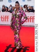 Купить «42nd Toronto International Film Festival - 'Mudbound' - Premiere Featuring: Dee Rees Where: Toronto, Canada When: 12 Sep 2017 Credit: Euan Cherry/WENN.com», фото № 30309792, снято 12 сентября 2017 г. (c) age Fotostock / Фотобанк Лори