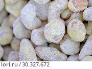 Купить «Roasted kernels of nuts», фото № 30327672, снято 9 марта 2019 г. (c) Владимир Белобаба / Фотобанк Лори