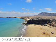 Купить «Papagayo Beach, Lanzarote, Canary Islands, Spain», фото № 30327752, снято 24 июня 2008 г. (c) Знаменский Олег / Фотобанк Лори