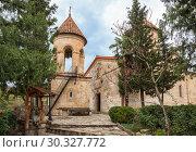 Купить «Motsameta Monastery in Georgia», фото № 30327772, снято 26 сентября 2018 г. (c) Юлия Бабкина / Фотобанк Лори