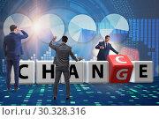 Купить «Businessman taking chance for change», фото № 30328316, снято 13 декабря 2019 г. (c) Elnur / Фотобанк Лори
