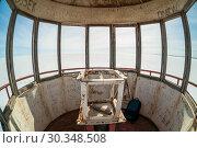 Купить «Вид на замерзшее Онежское озеро из башни Ивановского маяка. Карелия.», фото № 30348508, снято 9 апреля 2009 г. (c) Сергей Цепек / Фотобанк Лори