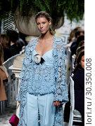Купить «Mercedes-Benz Madrid Fashion Week - Jorge Vazquez - Catwalk Featuring: Model Where: Madrid, Spain When: 18 Sep 2017 Credit: Oscar Gonzalez/WENN.com», фото № 30350008, снято 18 сентября 2017 г. (c) age Fotostock / Фотобанк Лори