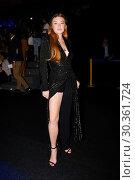 Купить «Madrid Fashion Week - Malne - Celebrity Sightings Featuring: Lindsay Lohan Where: Madrid, Spain When: 16 Sep 2017 Credit: Oscar Gonzalez/WENN.com», фото № 30361724, снято 16 сентября 2017 г. (c) age Fotostock / Фотобанк Лори