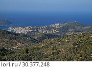 Купить «Spain, Mallorca - Drinking water storage Gorg Blau in Tramuntana Mountains», фото № 30377248, снято 20 октября 2016 г. (c) Caro Photoagency / Фотобанк Лори