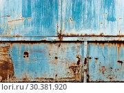 Купить «Rusty grunge textured background», фото № 30381920, снято 19 октября 2010 г. (c) easy Fotostock / Фотобанк Лори