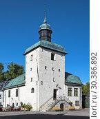Купить «Ратуша в Вадстене - старейшая сохранившаяся ратуша Швеции», фото № 30386892, снято 26 августа 2013 г. (c) Михаил Марковский / Фотобанк Лори