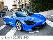 Купить «McLaren 720S», фото № 30388340, снято 12 марта 2019 г. (c) Art Konovalov / Фотобанк Лори