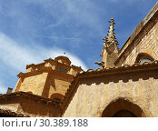 Купить «Cathedral in Aix-en-Provence in Southern France», фото № 30389188, снято 22 июня 2018 г. (c) Anton Eine / Фотобанк Лори