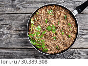 mixture for filling of pierogi and crepes. Стоковое фото, фотограф Oksana Zh / Фотобанк Лори