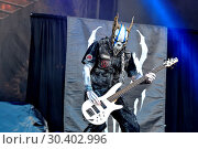 Купить «Chicago Open Air 2017 Festival at Toyota Park in Bedford Park Featuring: Mushroomhead Where: Bridgeview, Illinois, United States When: 16 Jul 2017 Credit: Adam Bielawski/WENN.com», фото № 30402996, снято 16 июля 2017 г. (c) age Fotostock / Фотобанк Лори