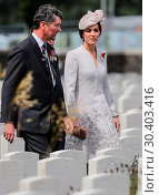 Купить «The Prince of Wales, accompanied by The Duke and Duchess of Cambridge, The King and Queen of the Belgians attend a memorial service at the Commonwealth...», фото № 30403416, снято 31 июля 2017 г. (c) age Fotostock / Фотобанк Лори