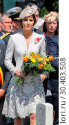 Купить «The Prince of Wales, accompanied by The Duke and Duchess of Cambridge, The King and Queen of the Belgians attend a memorial service at the Commonwealth...», фото № 30403508, снято 31 июля 2017 г. (c) age Fotostock / Фотобанк Лори