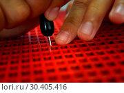 Writing braille. Стоковое фото, фотограф Apichart / easy Fotostock / Фотобанк Лори