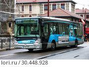 Купить «Irisbus Citelis», фото № 30448928, снято 14 марта 2019 г. (c) Art Konovalov / Фотобанк Лори
