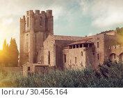 Купить «Image of Castle of Abbey Sainte-Marie d'Orbieu, part of history», фото № 30456164, снято 6 октября 2018 г. (c) Яков Филимонов / Фотобанк Лори